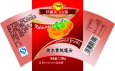 糖水黄桃商标
