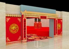 寿宴装饰门面套组合图片