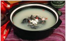 干白河煲乌鸡图片