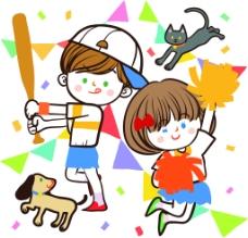 棒球背景画