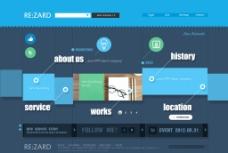 UI简洁界面图片
