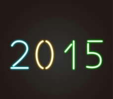 新年字體設計圖片