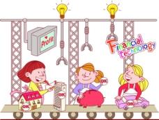 卡通 图画素材 背景素材 卡通人物 儿童
