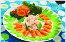木瓜芥兰炒三鲜图片