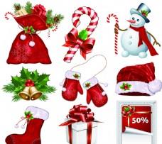 9款圣诞节元素矢量素材