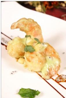 芥末沙丹虾图片