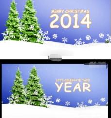 发给外国客户的圣诞电子贺卡