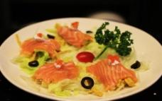 三文鱼咖喱蟹柳图片