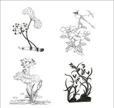 植物图案图片