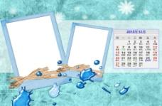四季谜语儿童台历模版图片
