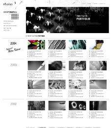 电影公司网站子页设计图片