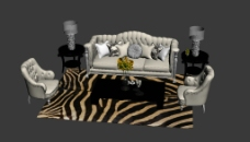 歐式沙發圖片