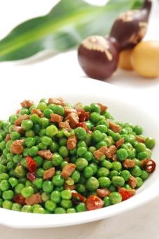 豌豆牛肉粒图片