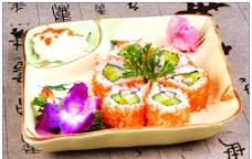 加洲卷寿司图片