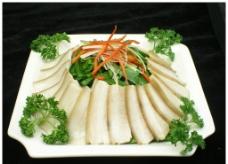 韭菜炒咸肉图片
