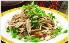 椒油黑豆腐丝图片