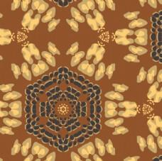 提花烧花烂花梭织面料展抽象图案