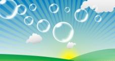 天空  气泡  阳光图片