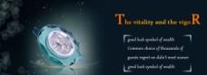 水晶天花灯 海报图片
