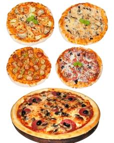 披萨素材图片