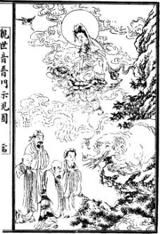 中国宗教人物插画素材46
