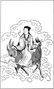 中国宗教人物插画素材83