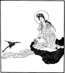 中国宗教人物插画素材43