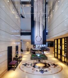 新中式餐厅图片