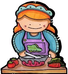 烹饪美食图图片