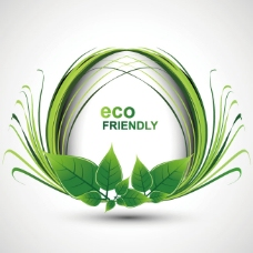 绿色环保广告背景图片