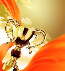 荣誉杯背景图片