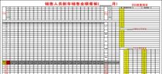 业绩表图片
