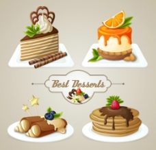 美味蛋糕图片
