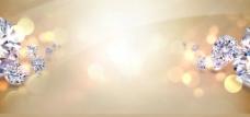 黄色大气背景图片