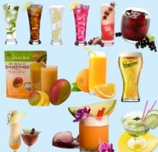 果汁 玻璃杯图片