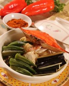 泰式咖喱蟹煲图片