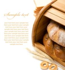 粗粮面包图片