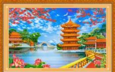 中堂画图片