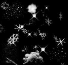 雪花的素材图片