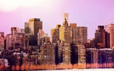 秋天美国城市图片