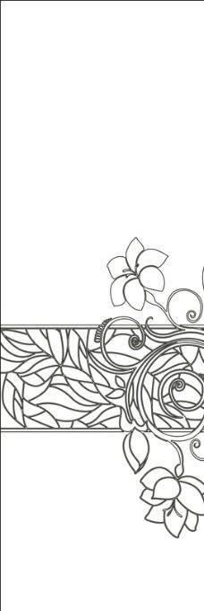中式花卉背景图片