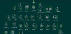 2014年灯饰水晶CAD图图片