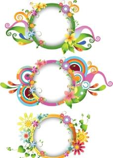 花卉文本框图片