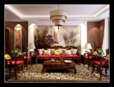 中式艺术会客室