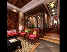 韵味中式客厅