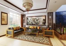 创意中式客厅