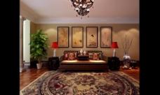 豪华中式会客厅