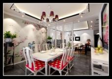 创新中式客厅