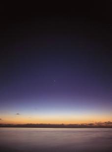 海边夕阳图片