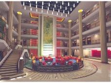 酒店豪华大厅设计